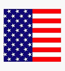 Stars and Stripes Classic Photographic Print
