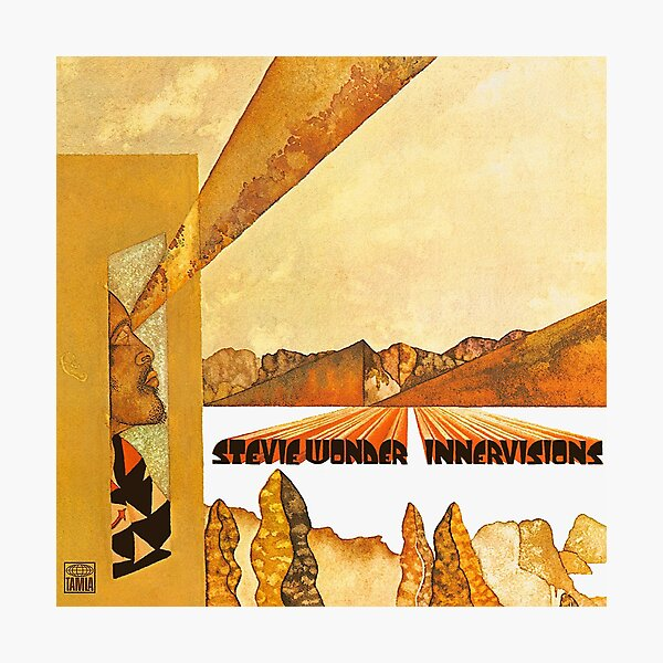 Innervisions - Stevie Wonder Photographic Print