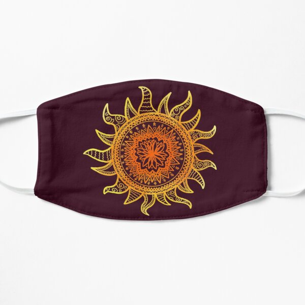 Mandala del sol Mascarilla