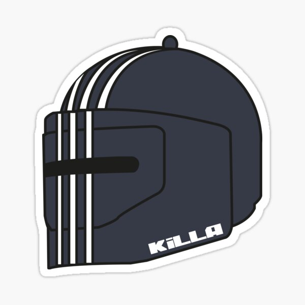 Killa Helmet - Escape From Tarkov Sticker