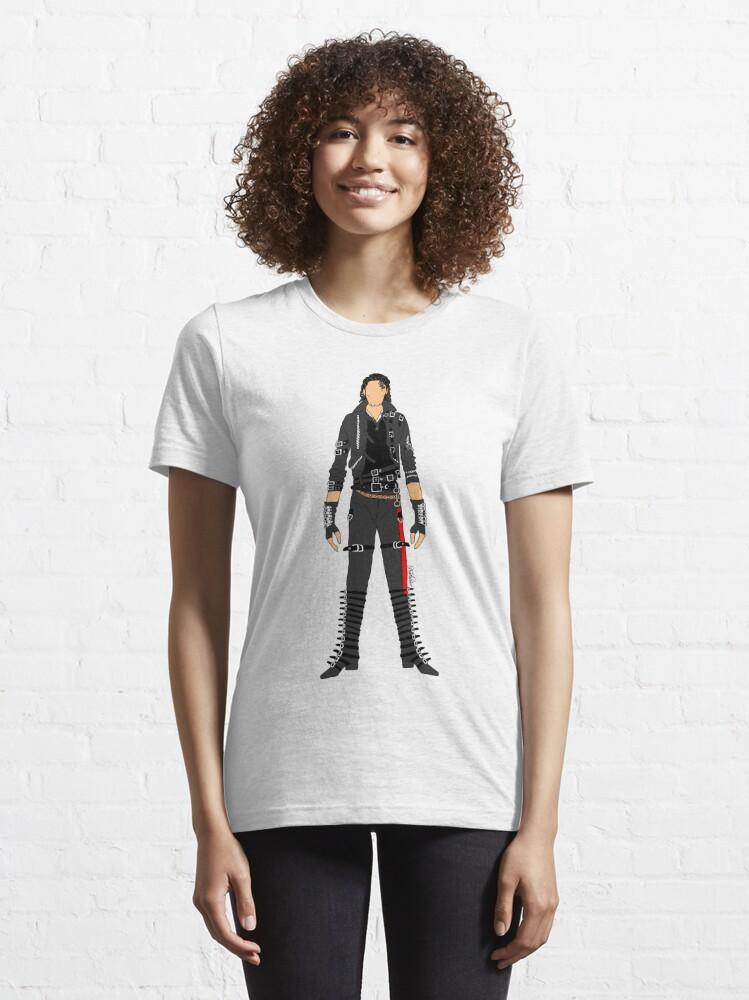 Alternate view of Bad - Jackson Essential T-Shirt