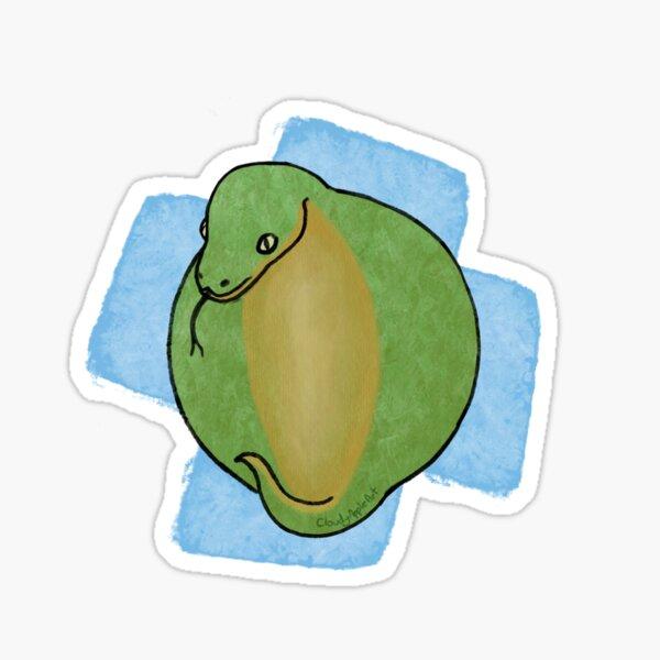 Snorb (snake orb) Sticker