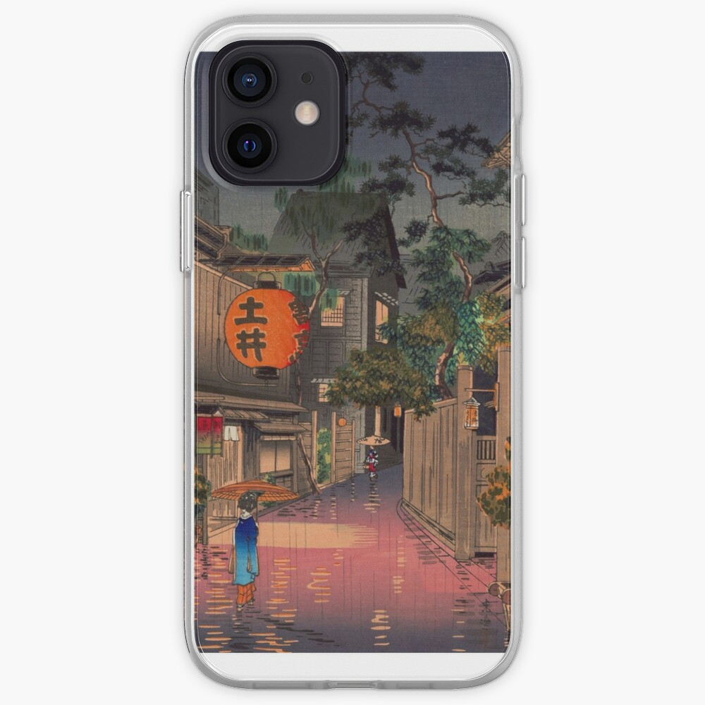 Night Street Rain   iPhone Case & Cover