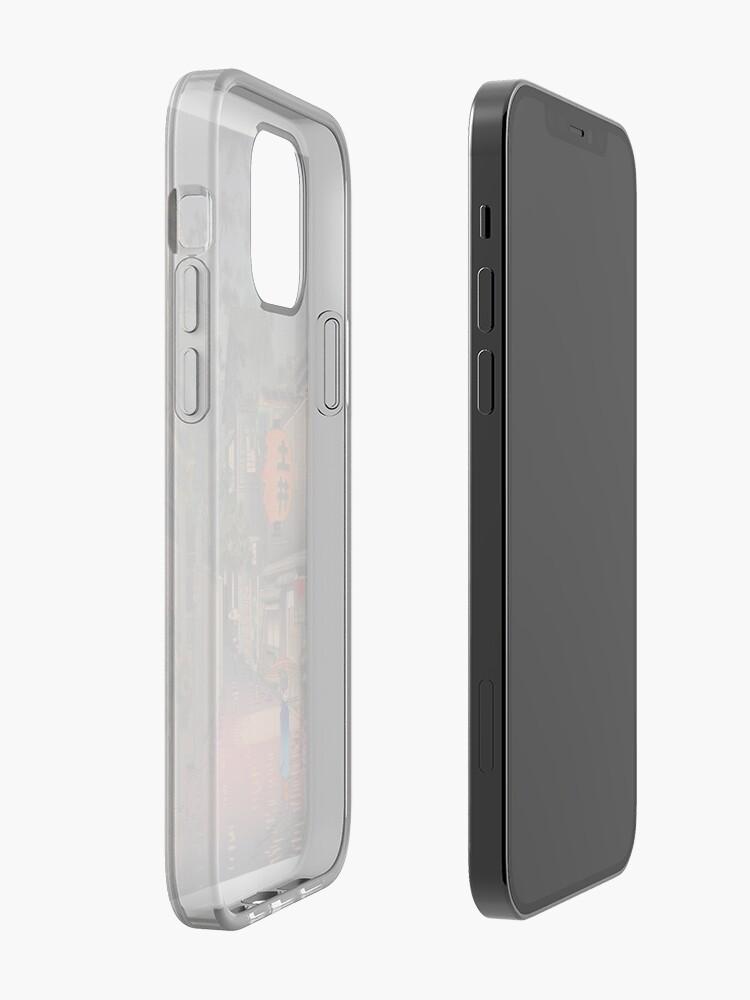 Alternate view of Night Street Rain   iPhone Case & Cover