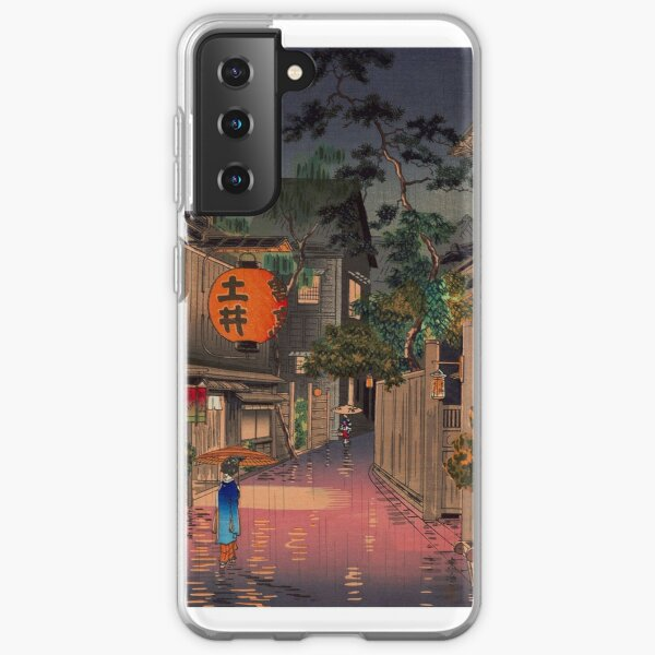Night Street Rain   Samsung Galaxy Soft Case