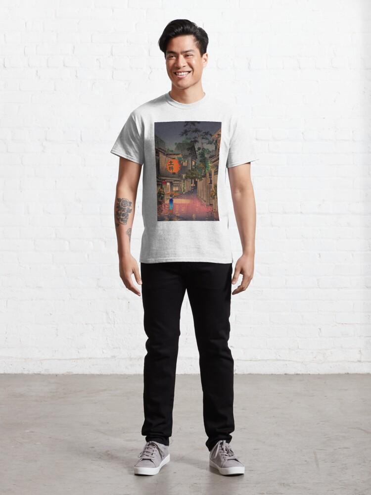 Alternate view of Night Street Rain   Classic T-Shirt