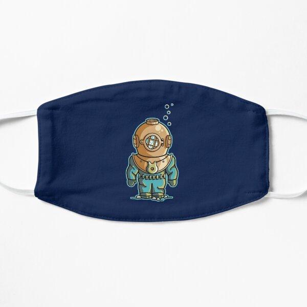 Cute Deep Sea Diver Flat Mask