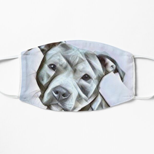Pit Bull dog lover, a beautiful design of a Blue Nose PitBull of this gentle loyal breed Mask
