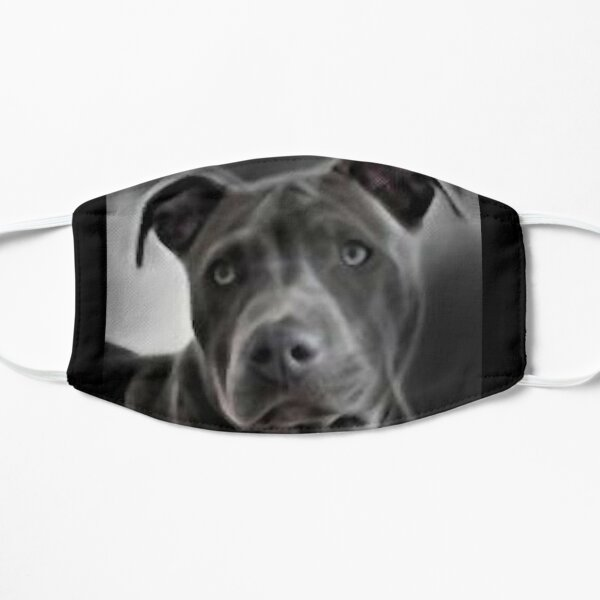Pit bull design for Blue Nose PitBull Lovers will love this  beautiful painting of this gentle breed Mask