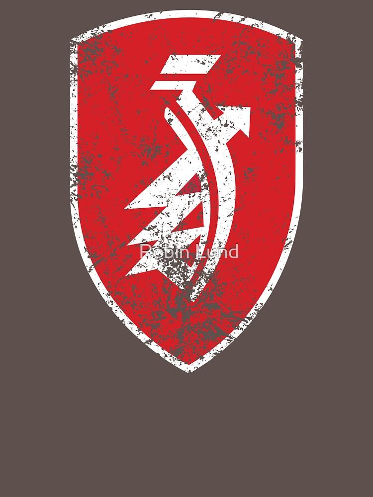 Distressed classic Zndapp emblem   Unisex T-Shirt