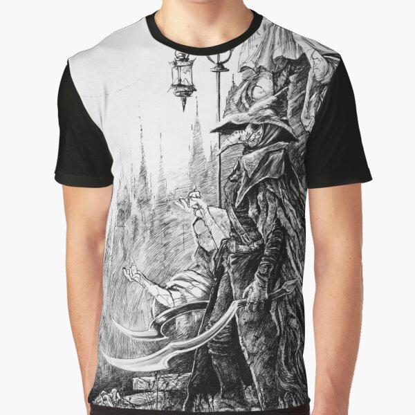 Eileen the Crow - Bloodborne Graphic T-Shirt