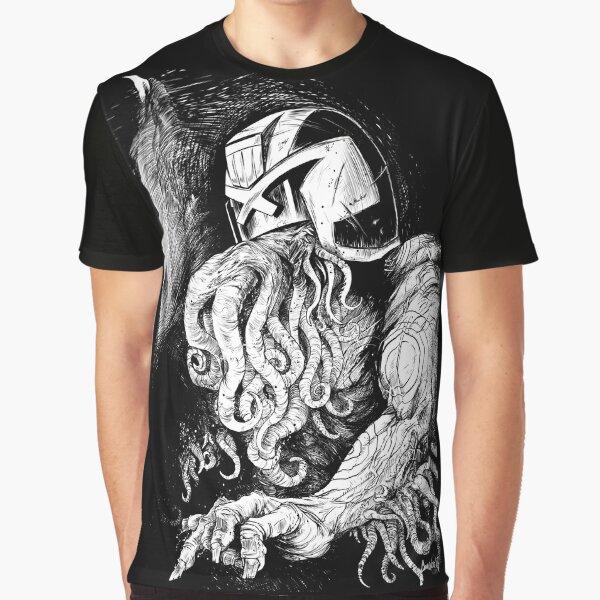 Judge Cthulhu Graphic T-Shirt