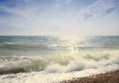 Surf at Dungeness by Nigel Bangert
