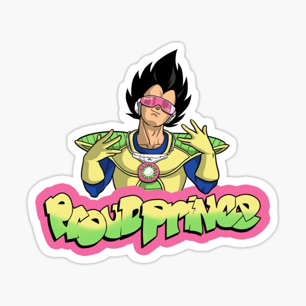 Proud Prince Sticker