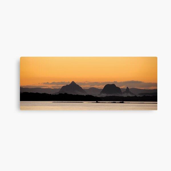 Glass House Mountains  Canvas Print