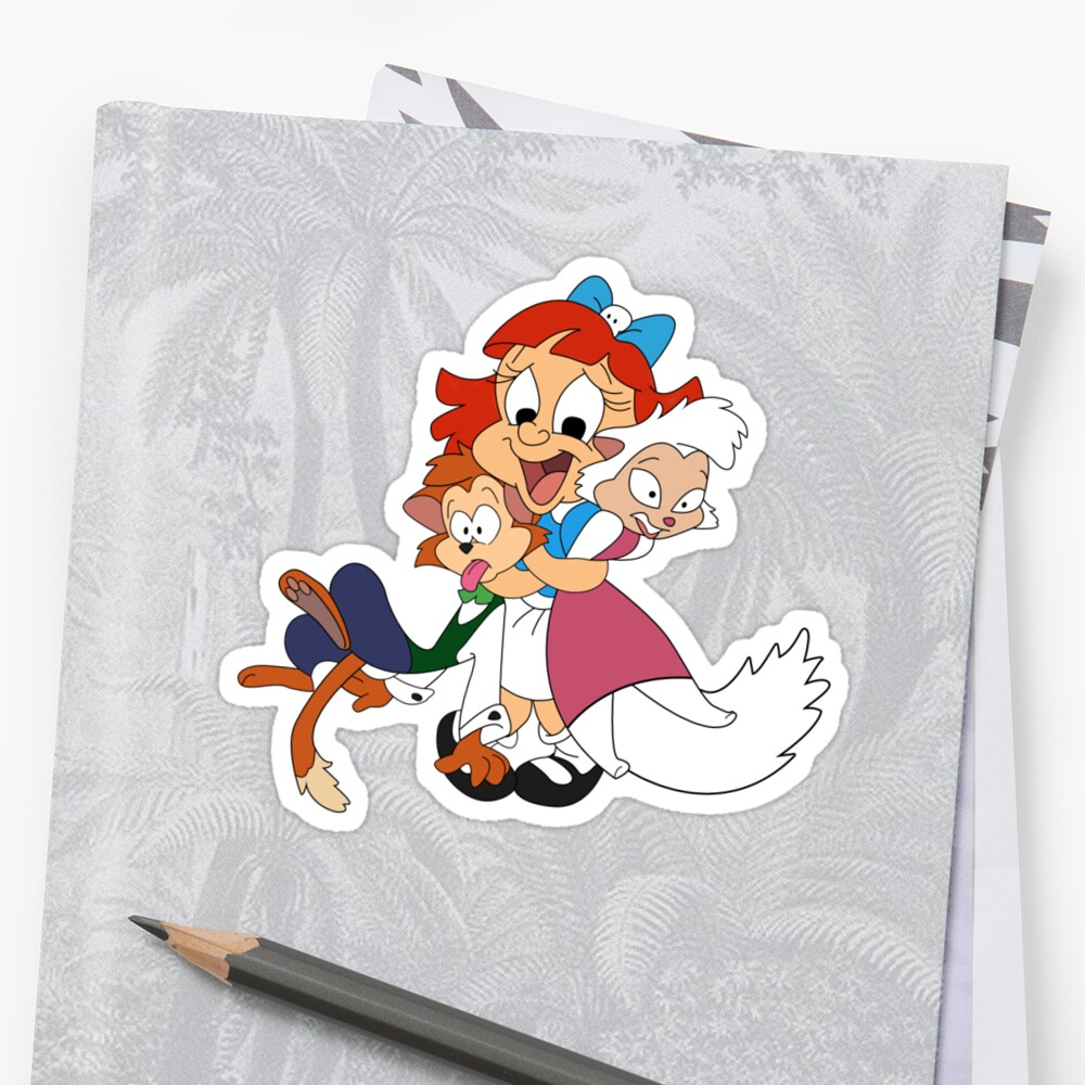Quot Elmira Looney Toons Quot Stickers By Thefamemonster Redbubble
