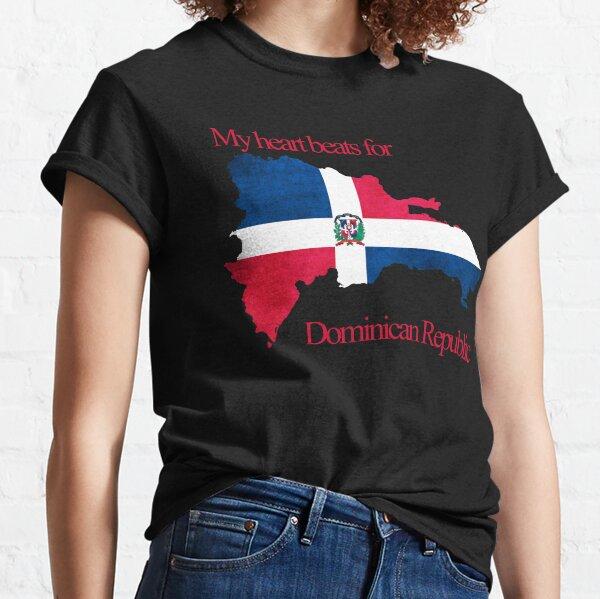 Mein Herz schlägt für die Dominikanische Republik Classic T-Shirt
