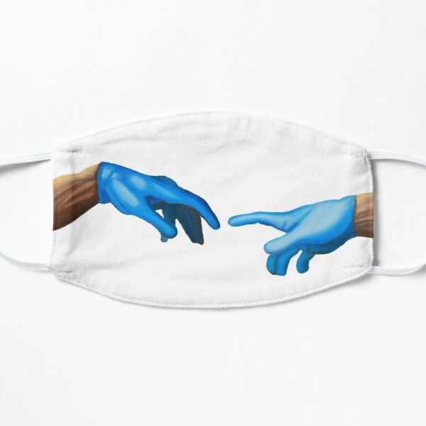 The Creation Of Adam in 2020 Mask