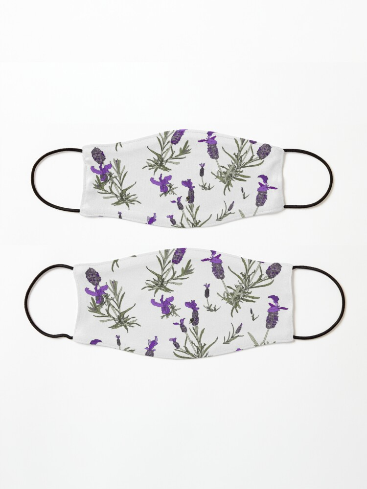 Alternate view of Lavender Mask
