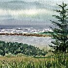 Oregon Pacific Ocean Shore by Irina Sztukowski