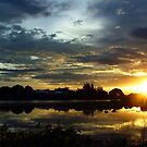 Sunset on the River Kwai by SerenaB