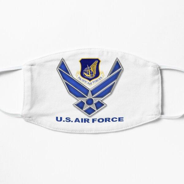 Crête des Forces aériennes du Pacifique (PACAF) Masque sans plis
