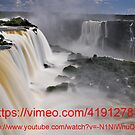 Links to a video of Iguazu Falls by Peter Hammer