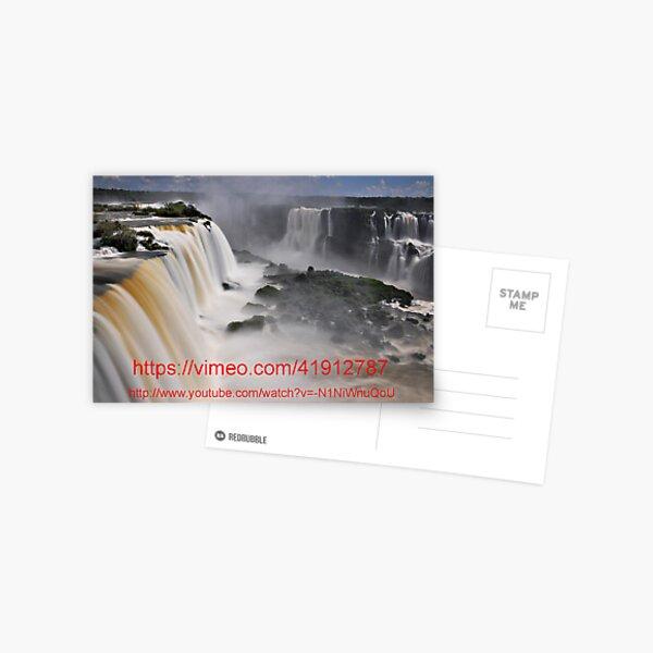 Links to a video of Iguazu Falls Postcard