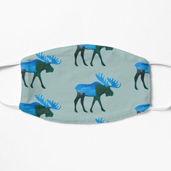 Moose Silhouette Mask