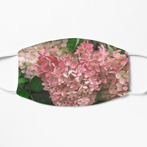 Autumn Hydrangeas Flat Mask