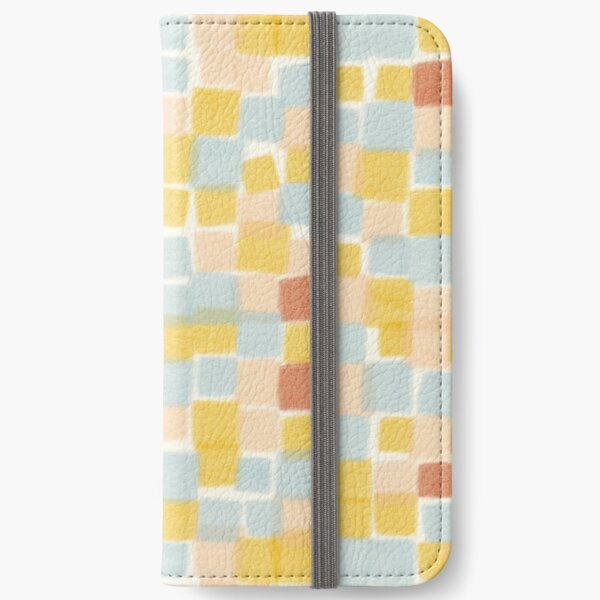 Beachy summer squares  iPhone Wallet