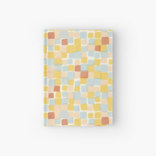 Beachy summer squares  Hardcover Journal
