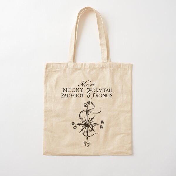 Merodeadores (en negro) Bolsa de algodón