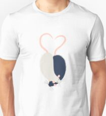 Ratty Love - Heart tails Unisex T-Shirt