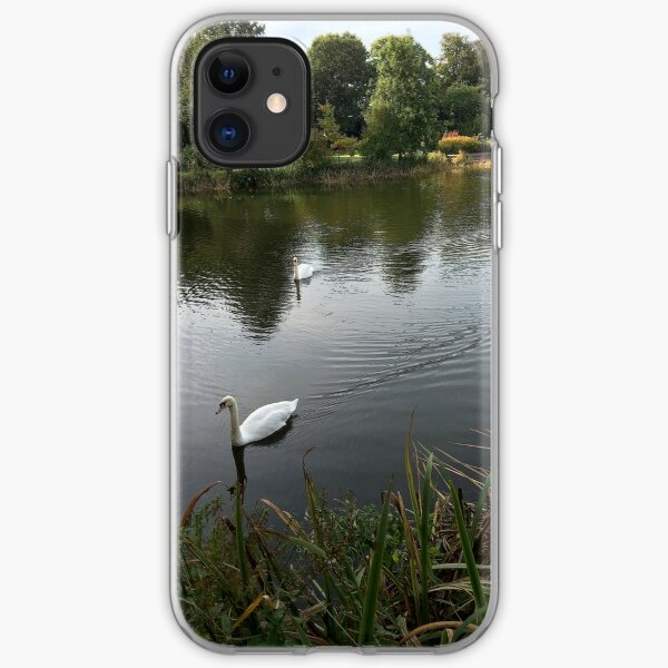 Bletchley Swans iPhone Soft Case