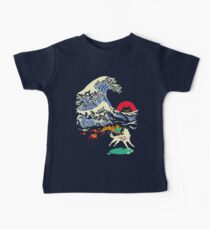 The Great Wave off Oni Island Kids Clothes