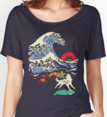 The Great Wave off Oni Island Women's Relaxed Fit T-Shirt