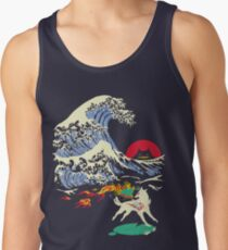 The Great Wave off Oni Island Men's Tank Top
