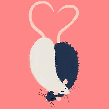 Ratty Love - Heart tails by sydneynewman