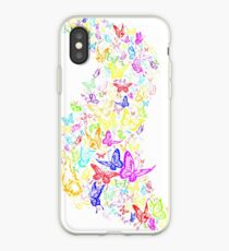Butterfly spill iPhone Case