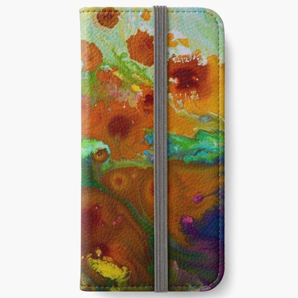 Cosmic Spring iPhone Wallet