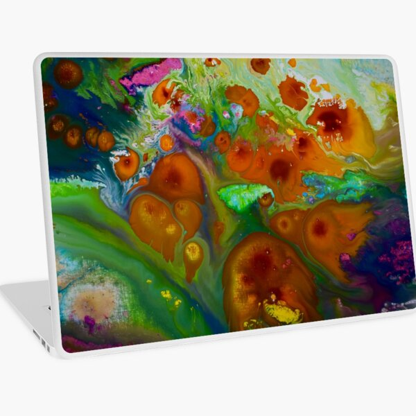 Cosmic Spring Laptop Skin