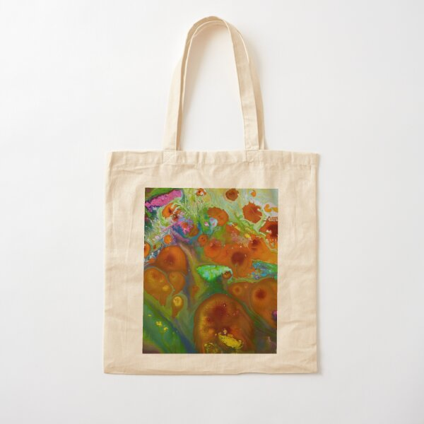 Cosmic Spring Cotton Tote Bag