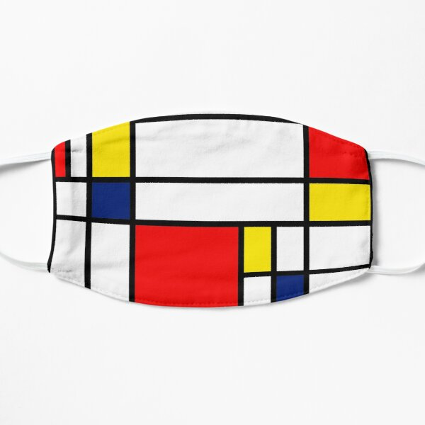Mondrian Composition Mask