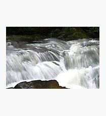 White Water Photographic Print