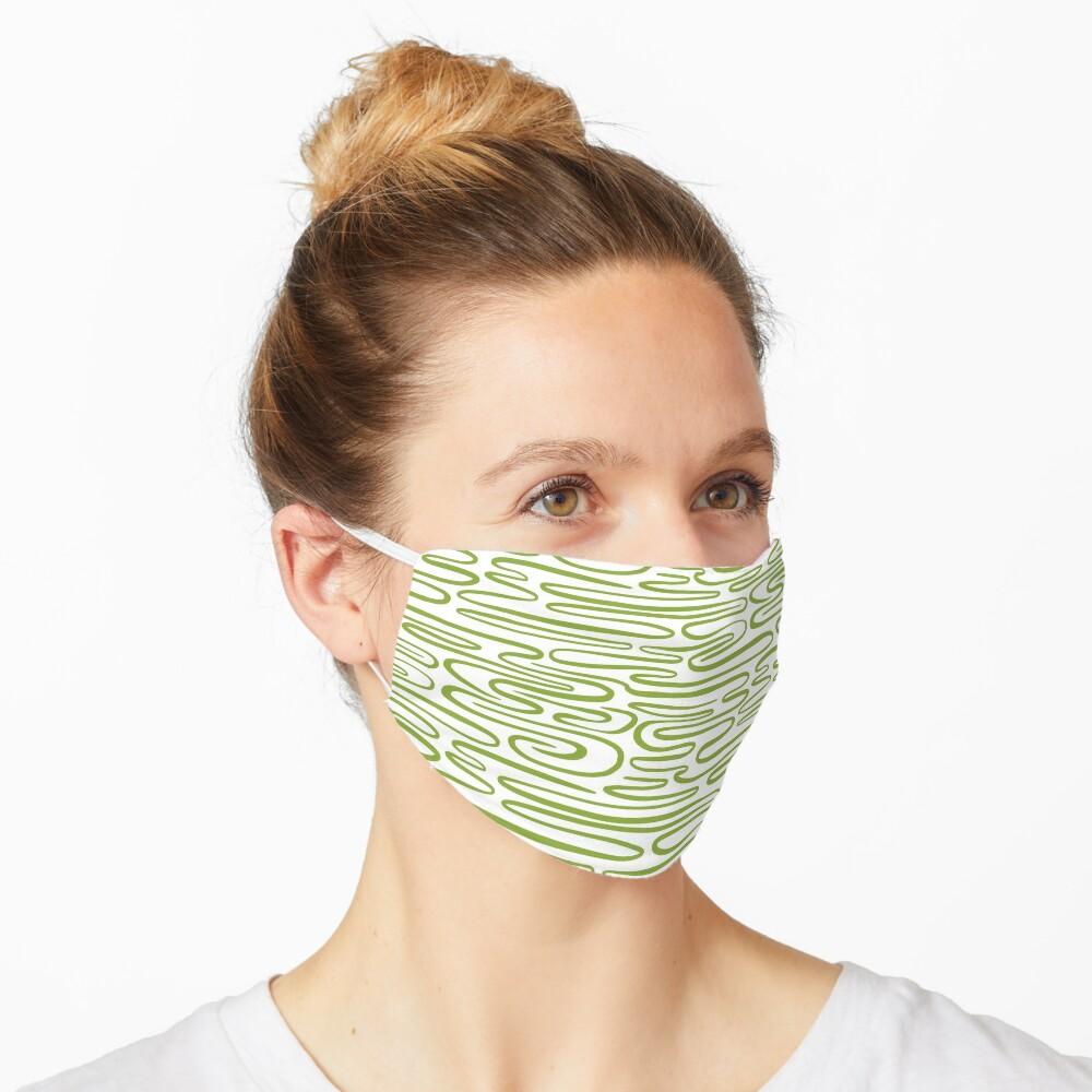 Green ripples Mask