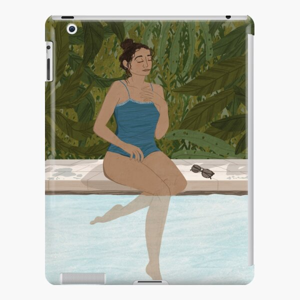 Lady by the Pool iPad Snap Case
