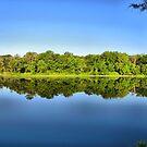 Lake Pickens - Herman Baker Park, Sherman, Texas, USA by aprilann