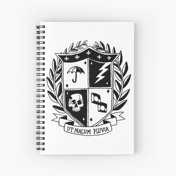 the umbrella academy crest Spiral Notebook