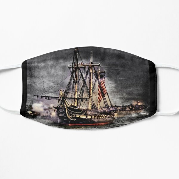 World's oldest commissioned warship afloat - USS CONSTITUTION Mask